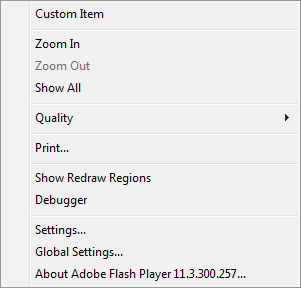 Custom Context Menu Step 2